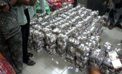 Naira: Recovered loot
