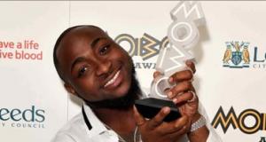 "Davido wins ""Best African Act"" at MOBO Awards"