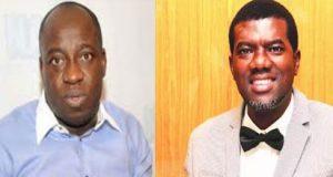 Pastor Reno Omokri and National Publicity Secretary of the All Progressives Congress, APC, party, Bolaji Abdullahi