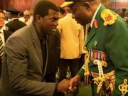 Former President Goodluck Jonathan and bestselling author, Pastor Reno Omokri