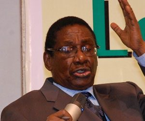 CHAIRMAN, Presidential Advisory Committee Against Corruption, Prof. Itse Sagay, SAN,