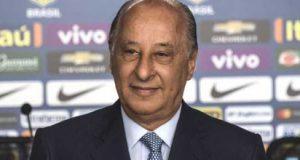 Brazilian football confederation president Marco Polo Del Nero