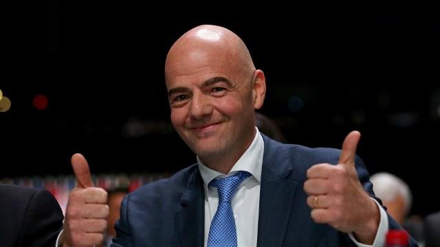FIFA President Gianni-Infantino