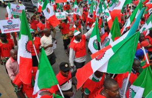 Labour: Nigerian Labour Congress, NLC.