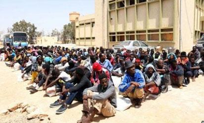 Migrants in Libya sold into slavery