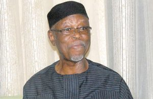 National Chairman of the All Progressives Congress (APC), Chief John Odigie-Oyegun