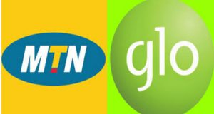 MTN and GLO logo