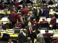 Nigerian Stock Exchange (NSE) market floor