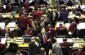 Nigerian Stock Exchange (NSE) market floor