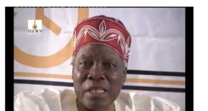 PROFESSOR Banji Akintoye is a renowned historian and a member of theSouthern Leaders Forum.
