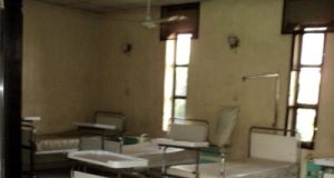 File: Hospital empty as health workers embark on strike