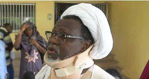 Leader of the Islamic Movement of Nigeria, Sheik Ibrahim El-Zakzaky,
