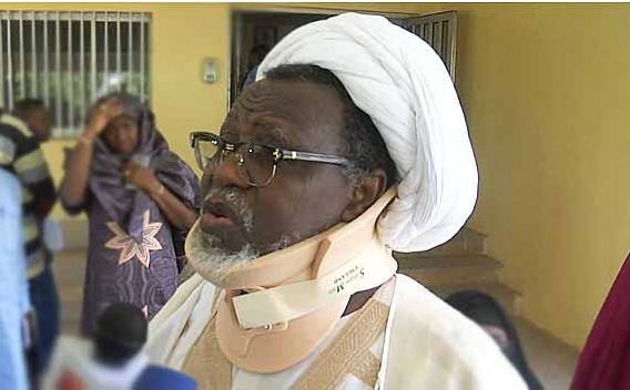 Leader of the Islamic Movement of Nigeria, Sheik Ibrahim El-Zakzaky,