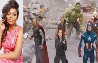 Funke Akindele and the Avengers