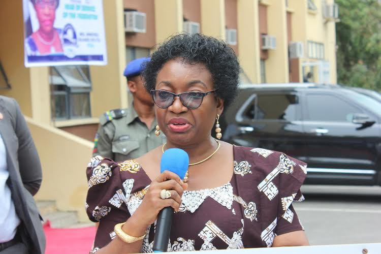 Mrs. Winifred Oyo-Ita, the Head of Civil Service of the Federation (HOS)