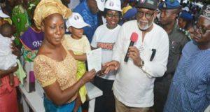 Governor of Ondo State Governor, Oluwarotimi Odunayo Akeredolu, has flagged offaccelerated birth registration