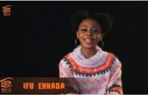 Big Brother Naija housemate, Ifu Ennada