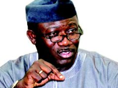 Minister of Solid Mineral Development, Dr. Kayode Fayemi