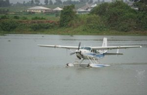 First seaplane lands in Bayelsa