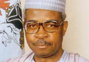 former defense minister, Gen. Theophilus Danjuma
