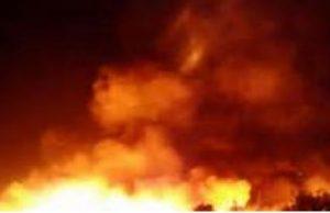 Fire, market, Enugu