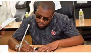 Youth party leader Bukunyi Olateru-Olagbegi, Twitter photo.