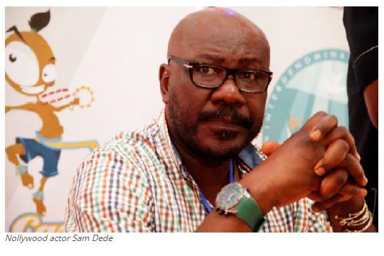 Nollywood actor Sam Dede