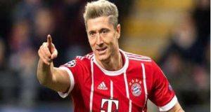 Bayern Munich's goal poacher, Robert Lewandowski