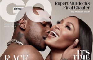 Naomi and Joseph Junior Adenuga, a.k.a Skepta in a sexy GQ cover