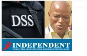 DAILY INDEPENDENT'S Bureau Chief, TONY EZIMAKOR arrested by DSS