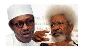 Wole Soyinka and President Buhari