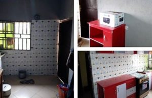 BBNaija housemate, Alex gets gift of a furnished kitchen from Dano