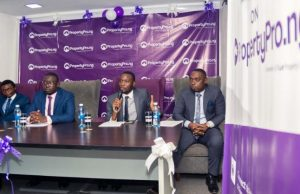 Picture (L - R) Seyi Ayeni (Chief Technology Officer CTO), Sulaiman Balogun (Chief Business Officer CBO), Fikayo Ogundipe (Chief Executive Officer CEO), Oladapo Eludire (Chief Operating Officer COO).