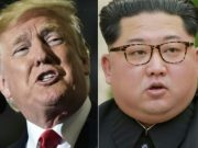 U.S president, Donald Trump and North Korea's president, Kim Jong-Un