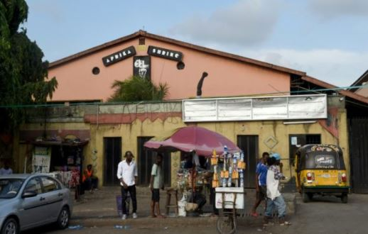 Fela's African Shrine in Ikeja, Lagos
