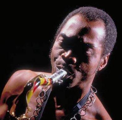 Late Fela Anikulapo Kuti, afrobeat king