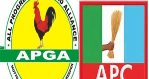 APGA and APC logos
