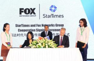 StarTimes signs broadcasting deal with Fox