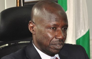 Acting Chairman of the Economic and Financial Crimes Commission (EFCC), Mr. Ibrahim Magu