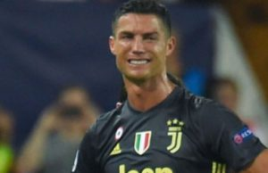 Cristiano Ronaldo was sent off for the 11th time on Wednesday on his Champions League debut with Juventus at Valencia.