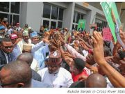 Bukola Saraki in Cross River State