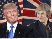 U.S President, Donald Trump and U.K Prime Minister, Theresa May