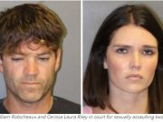 Grant William Robicheaux and Cerissa Laura Riley in court for sexually assaulting two women