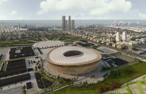 Lusail Stadium in Qatar
