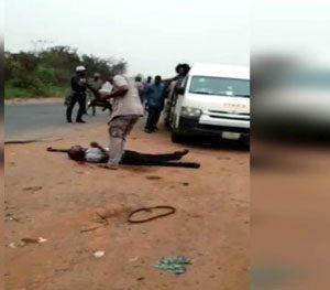 Video shows Customs officer shoot man dead over alleged N5000