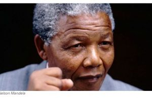 Late President Nelson Mandela of South Africa