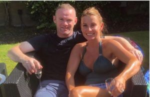 Wayne Rooney with his wife Coleen