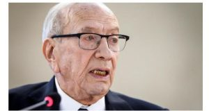 Tunisian President Beji Caid Essebsi, the North African country's first democratically elected leader is dead