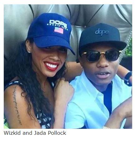 Wizkid and Jada Pollock
