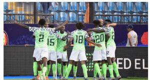 Super Eagles beat South Africa in Egypt